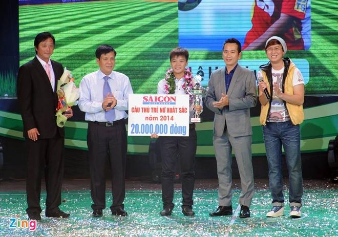 Thanh Luong gianh Qua bong vang Viet Nam 2014 hinh anh 25
