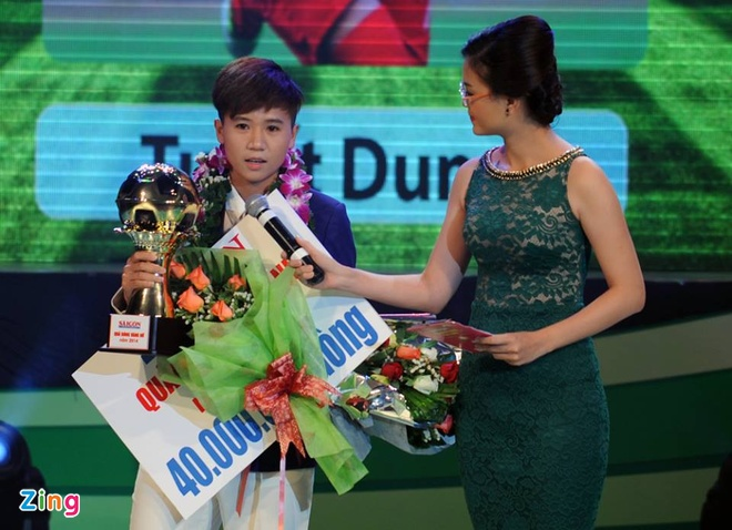 Thanh Luong gianh Qua bong vang Viet Nam 2014 hinh anh 34