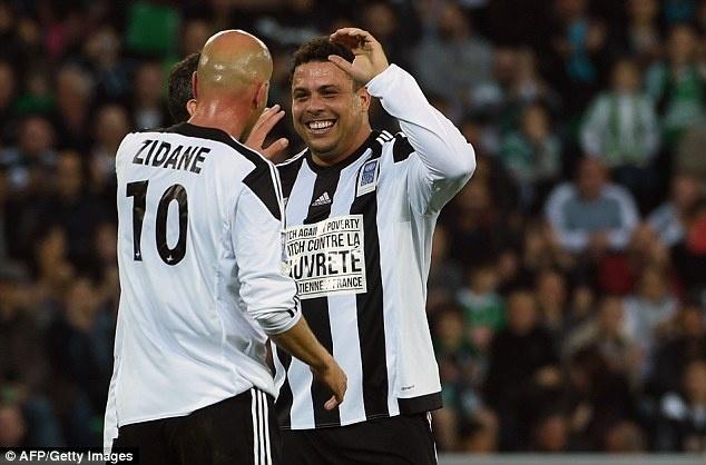 Mua ban thang dep trong tran dau cua Ro 'beo', Zidane hinh anh