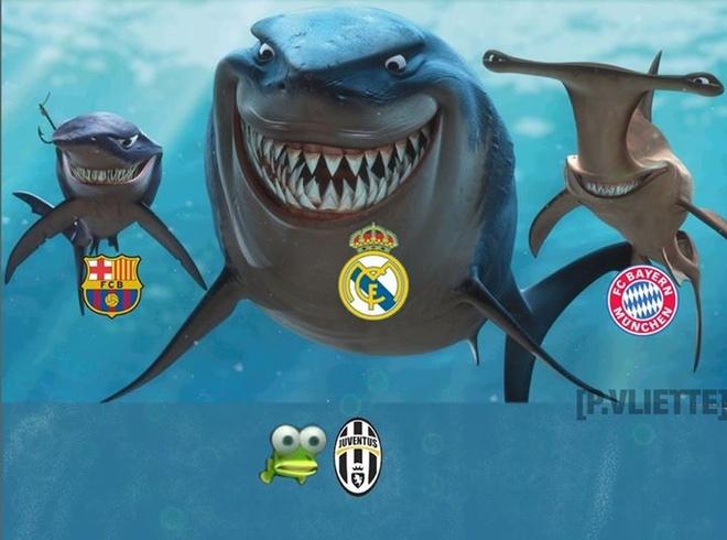 Anh vui Barca, Real va Bayern mong gap Juve o ban ket hinh anh