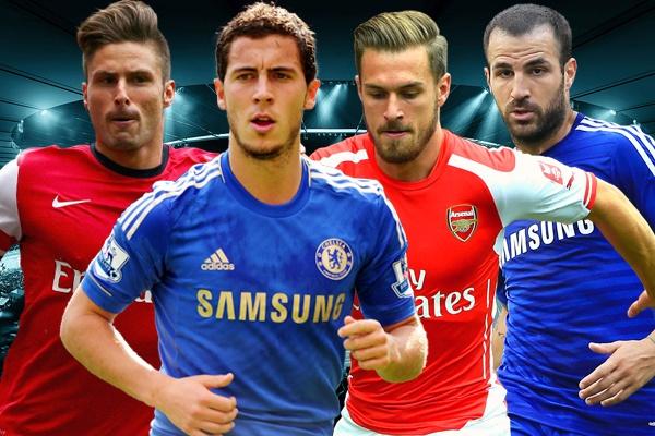 Chelsea chiem uu the trong doi hinh ket hop voi Arsenal hinh anh