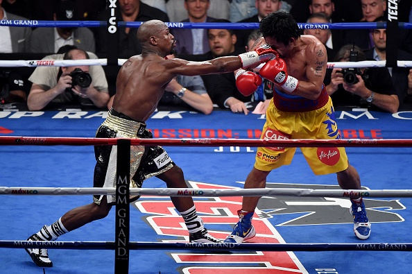 Chuyen gia Philippines cao buoc Mayweather chay quanh hinh anh
