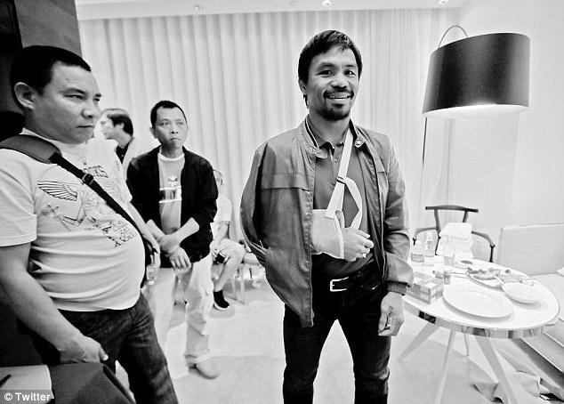 Pacquiao co the bi phat vi giau chan thuong hinh anh