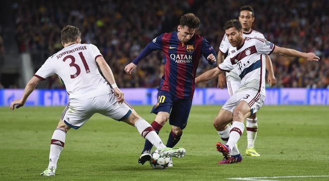Barca 3-0 Bayern: Messi pha ky luc cua Ronaldo hinh anh