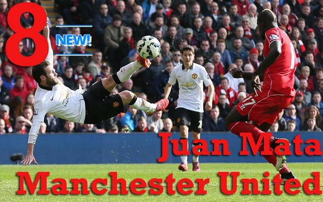 """10 tien ve hay nhat Ngoai hang Anh thang 4 hinh anh 3 8. Juan Mata (Manchester United): Sau màn trình diễn đáng khen ngợi trước Liverpool và Manchester City, cựu cầu thủ Chelsea chiếm được 1 vị trí chắc chắn nơi hành lang cánh phải của """"Quỷ đỏ"""". Tỉ lệ chuyền chính xác trung bình mỗi trận của Mata lên đến 91%. Ảnh: Getty Images."""