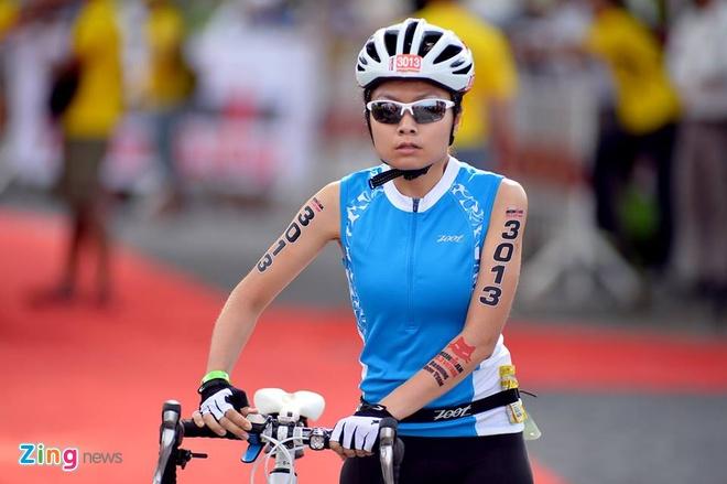VNG Ironman 70.3: Nhieu VDV Viet Nam ve dich hinh anh 18