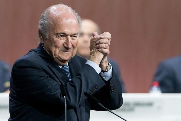 Sepp Blatter tai dac cu chu tich FIFA lan thu nam hinh anh