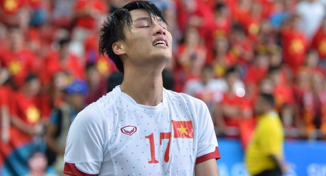 U23 Viet Nam thua Myanmar 1-2, tranh hang ba hinh anh
