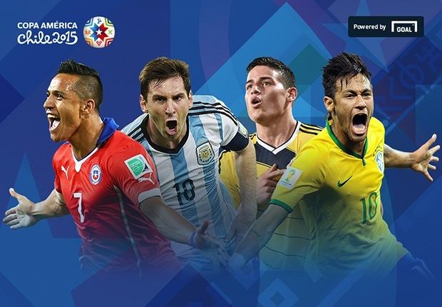 Lich thi dau va bang xep hang Copa America 2015 hinh anh