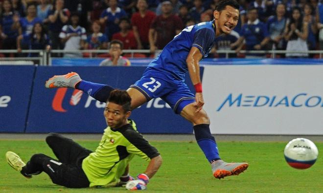 Ha Myanmar 3-0, U23 Thai Lan gianh HCV hinh anh