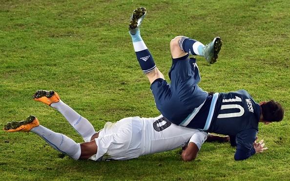 Argentina 1-0 Uruguay: Sergio Aguero toa sang hinh anh 1