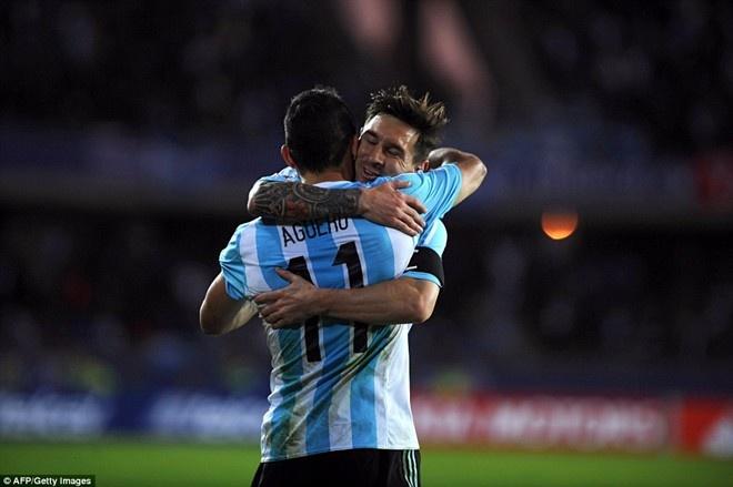 Argentina 1-0 Uruguay: Sergio Aguero toa sang hinh anh 4