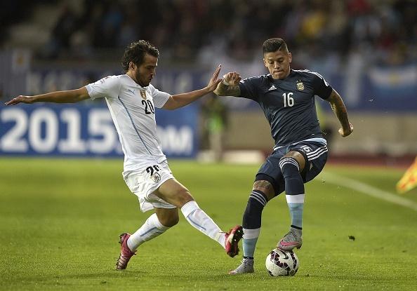 Argentina 1-0 Uruguay: Sergio Aguero toa sang hinh anh 11