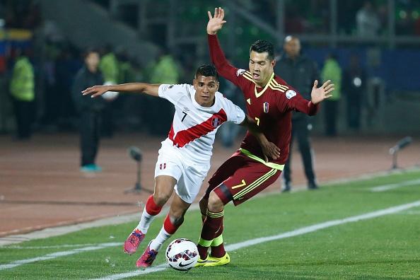 Tong hop tran dau: Peru 1-0 Venezuela hinh anh