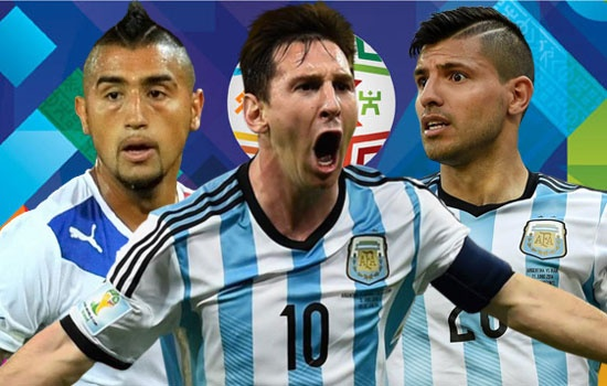 Doi hinh hay nhat vong bang Copa America 2015 hinh anh