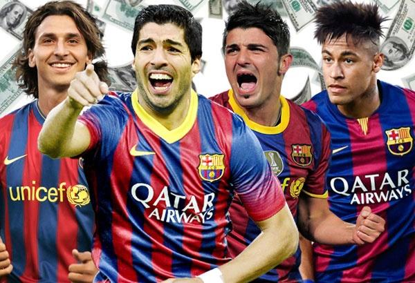 10 vu chuyen nhuong dat gia nhat lich su Barcelona hinh anh