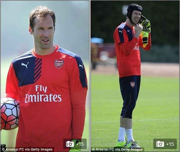 Thu mon Petr Cech co buoi tap dau tien cung Arsenal hinh anh 4