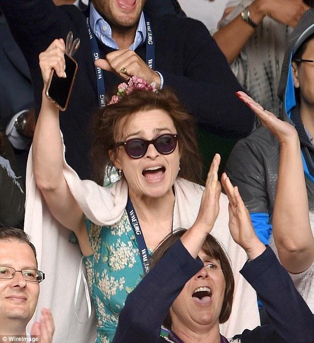 Cam xuc cua sao noi tieng khi du chung ket Wimbledon hinh anh 10