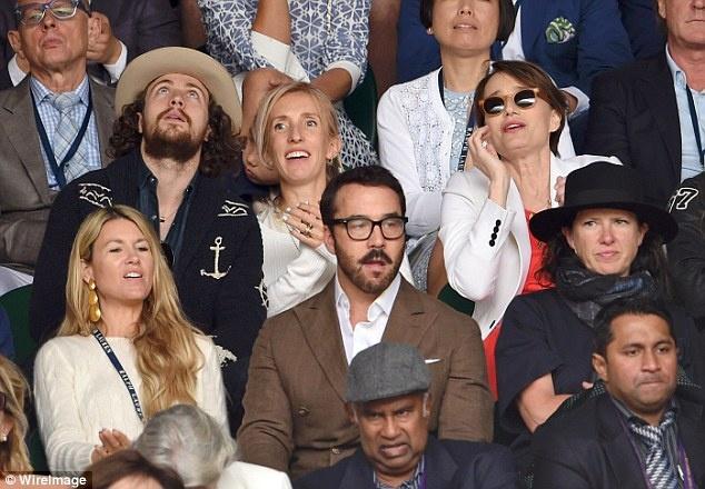 Cam xuc cua sao noi tieng khi du chung ket Wimbledon hinh anh 13