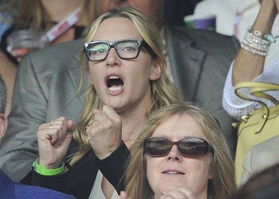 Cam xuc cua sao noi tieng khi du chung ket Wimbledon hinh anh