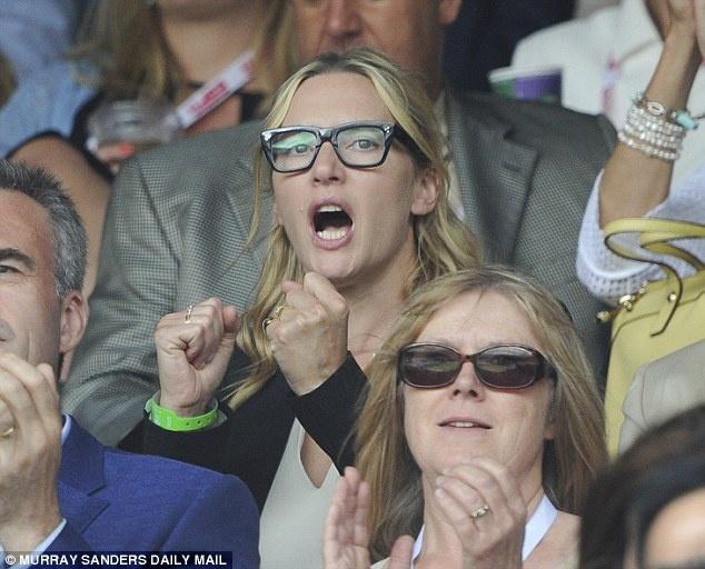 Cam xuc cua sao noi tieng khi du chung ket Wimbledon hinh anh 3