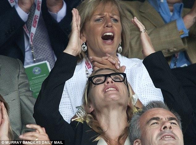 Cam xuc cua sao noi tieng khi du chung ket Wimbledon hinh anh 5
