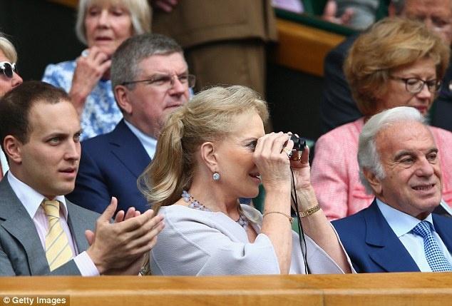 Cam xuc cua sao noi tieng khi du chung ket Wimbledon hinh anh 15