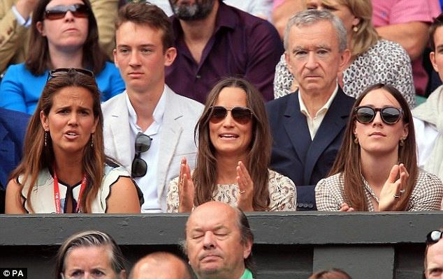 Cam xuc cua sao noi tieng khi du chung ket Wimbledon hinh anh 16