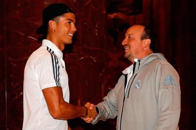Ronaldo vui mung khi hoi ngo Real tai Australia hinh anh