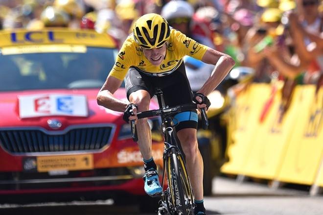 Cua-ro tai Tour de France bi nghi gan dong co vao xe dap hinh anh