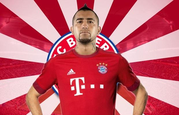 Bayern xac nhan hoan tat vu chuyen nhuong cua Vidal hinh anh 1
