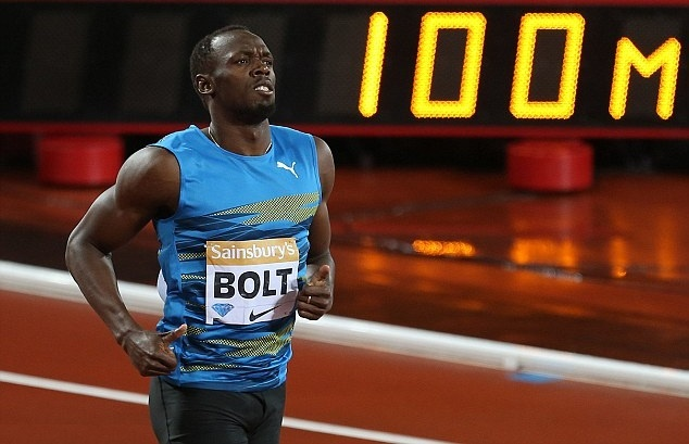 Usain Bolt tiep tuc chinh phuc duong chay 100 m hinh anh