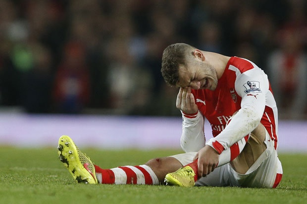 Arsenal mat Jack Wilshere ba tuan do chan thuong hinh anh 1