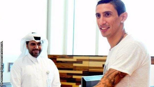 Di Maria: 'Toi rat vui khi gia nhap PSG' hinh anh