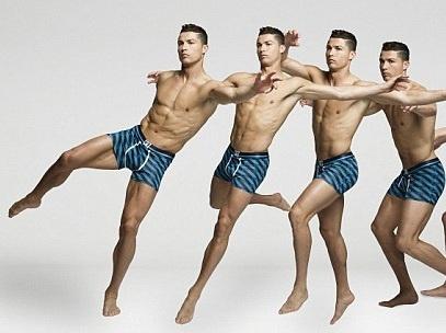 Ronaldo khoe dang manh me trong bo suu tap moi hinh anh