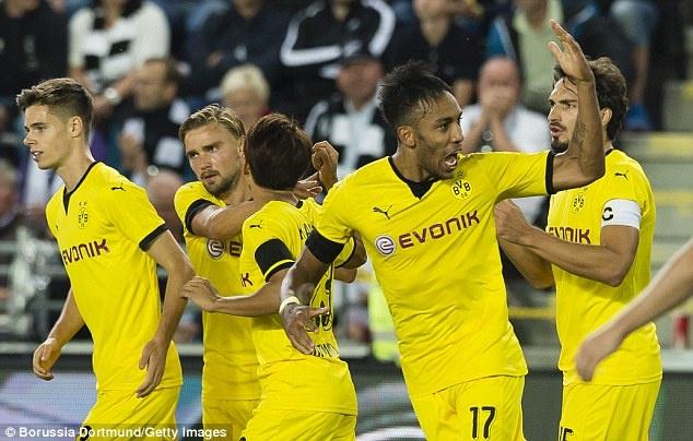 Tong hop tran dau: Odds Ballklubb 3-4 Borussia Dortmund hinh anh