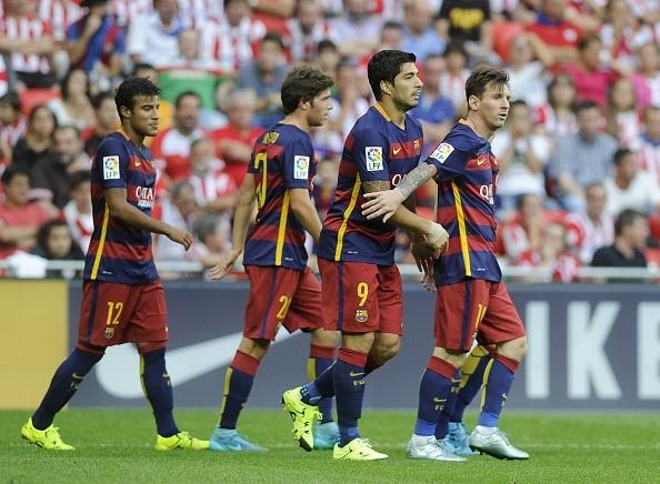 Messi da hong 11 m, Barca van doi lai mon no truoc Bilbao hinh anh