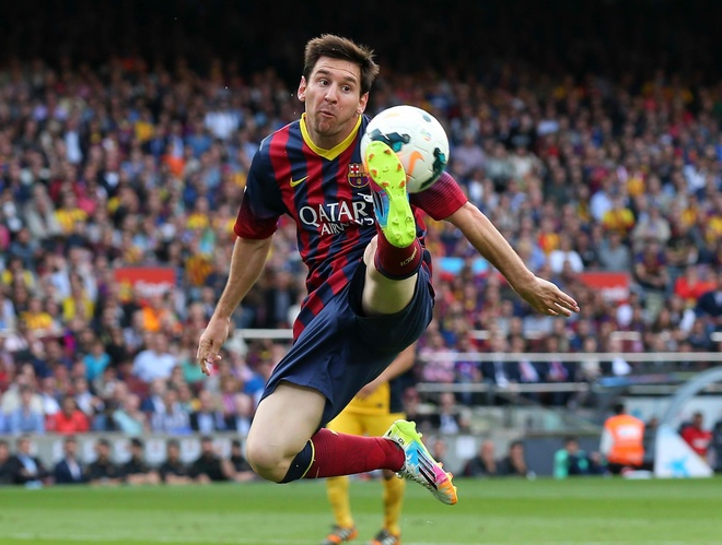 Man trinh dien chi co o Lionel Messi trong nam 2015 hinh anh