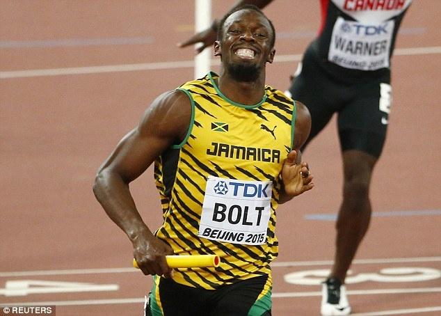 Usain Bolt gianh HCV thu 3 tai giai dien kinh the gioi 2015 hinh anh