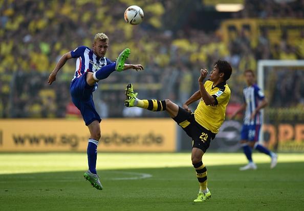 Ha Hertha Berlin 3-1, Dortmund doi lai ngoi dau tu Bayern hinh anh 13