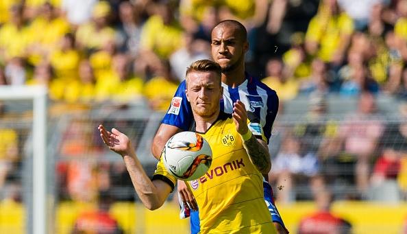 Ha Hertha Berlin 3-1, Dortmund doi lai ngoi dau tu Bayern hinh anh 15
