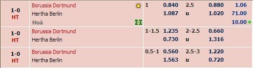 Ha Hertha Berlin 3-1, Dortmund doi lai ngoi dau tu Bayern hinh anh 14