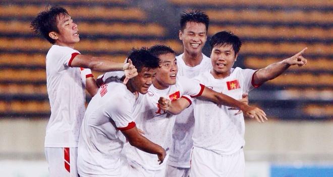 Dan dau bang B, U19 Viet Nam gap Lao o ban ket hinh anh