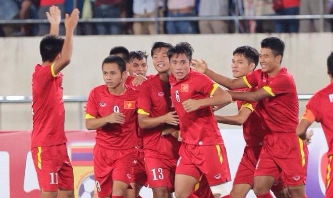 Thang Lao 4-0, U19 Viet Nam gap Thai Lan o chung ket hinh anh