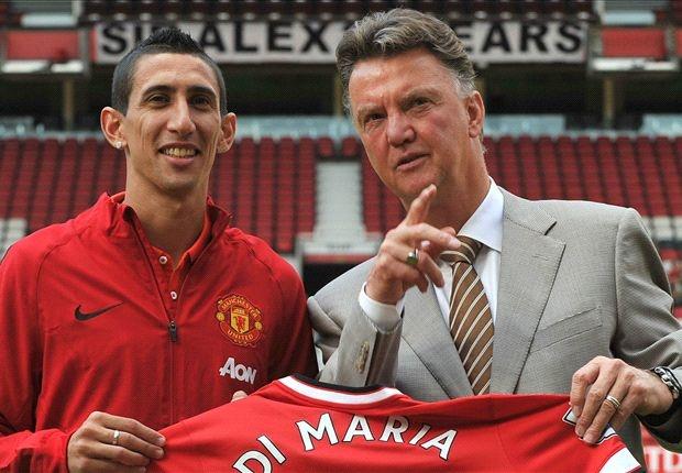 'Van Gaal da giet Di Maria o Manchester United' hinh anh