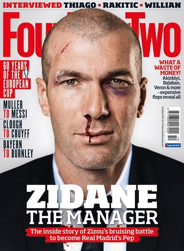 Zidane tham tim mat, chay mau mui vi dan dat doi tre Real hinh anh 1