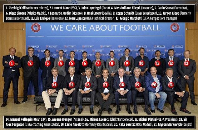 HLV Wenger va Sir Alex tai ngo trong cuoc hop cua UEFA hinh anh 1