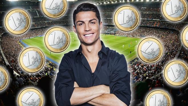Ronaldo kiem bon tien cho moi lan cong khai tweet hinh anh