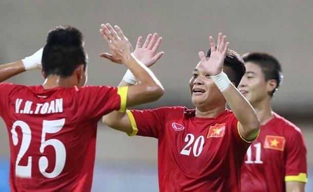Viet Nam thang tran dau tien tai vong loai World Cup hinh anh