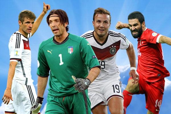 Doi hinh tieu bieu vong loai EURO 2016 tuan qua hinh anh